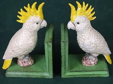 Kakadu Buchstütze