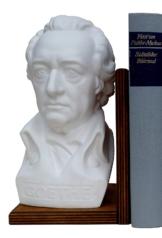 Goethe Büste links