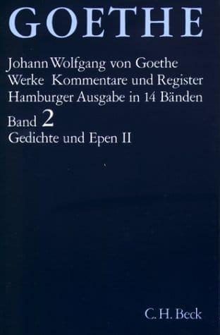Goethe. Werke. Hamburger Ausgabe. (14 Baende in einer Kassette) -