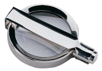 Handgearbeitete Metall-Klapplupe Made in Germany - 3