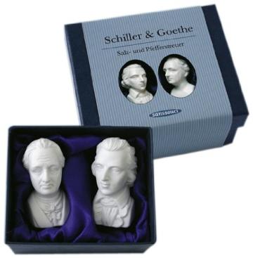 Schiller & Goethe als Salzstreuer