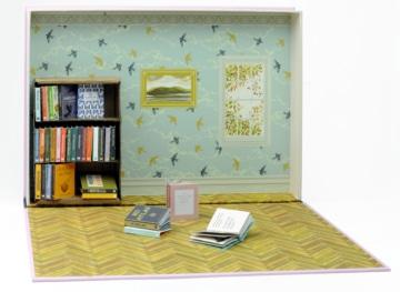 Bastelbuch Meine Mini Bibliothek