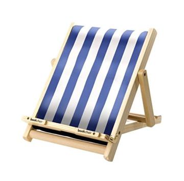 Bookchair  Blau-Weiß gestreift -