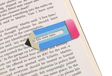 Line Markers Pencils – Magnetische Lesezeichen. 2er Set Stifte -