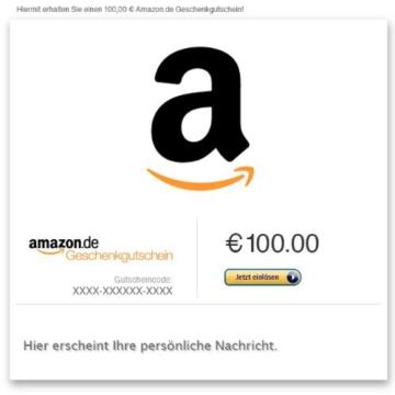 Amazon.de Gutschein Digital (Verschiedene Motive) -