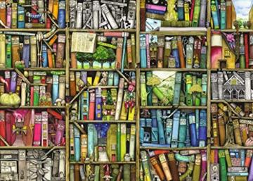 Ravensburger Puzzle – Magisches Bücherregal, 1000 Teile -