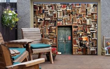 §D Bild Bücherregal