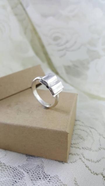 Buchring aus Silber