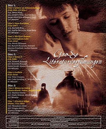 Große Literaturverfilmungen (7 Filme auf 3 DVDs) -