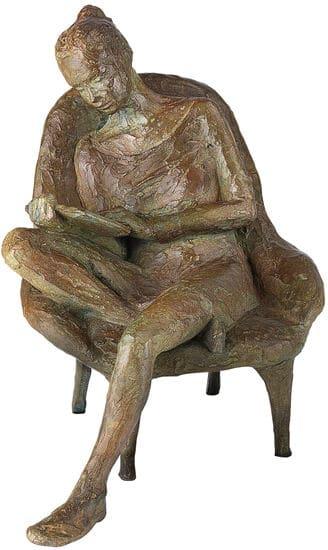 Skulptur von Valerie Otte: Lesende