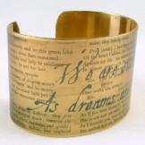 Armband Buch Shakespeare