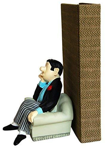 "Loriot Buchstütze ""Herr im Sessel"" -"