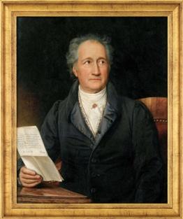 Goethe gemalt von Joseph Karl Stieler