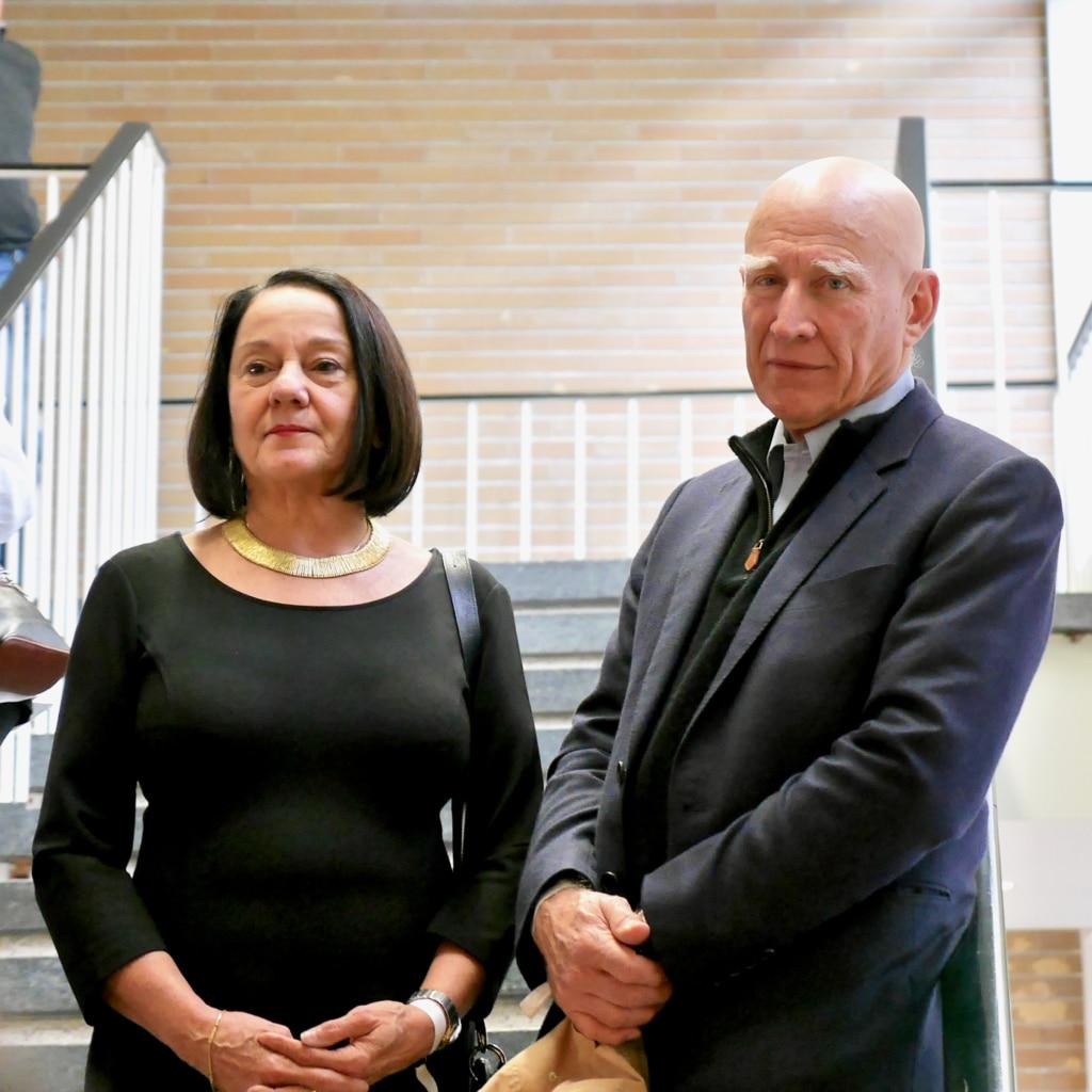 Sebastiao Salgado mit seiner Frau Lélia Wanick Salgado