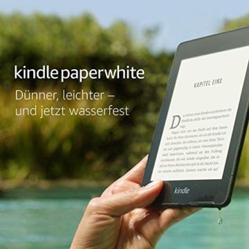 Kindle Paperwhite, wasserfest, 6Zoll (15cm) -