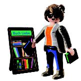 Buchhändlerin Playmobil