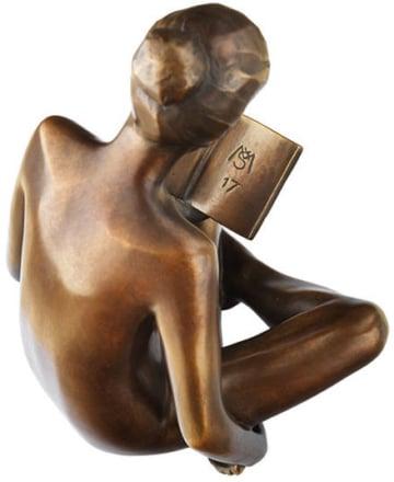 Lesender Akt