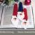 Häkelanleitung Weihnachtsmann Lesezeichen