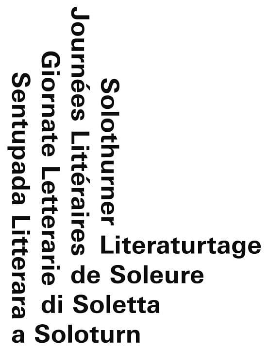 Solothurner Literaturtage Logo