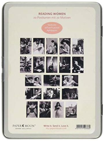 Reading Women: Momente des Leseglücks, 20 Postkarten -