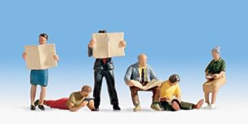 Miniaturfiguren Lesende -
