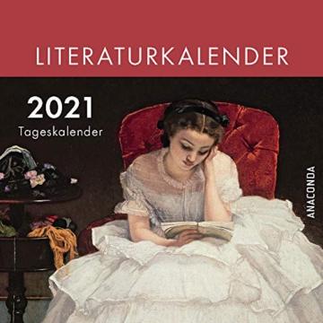 Anaconda Literatur-Kalender 2021 -