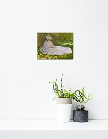 "Leinwanddruck Claude Monet ""Die Lesende"" -"