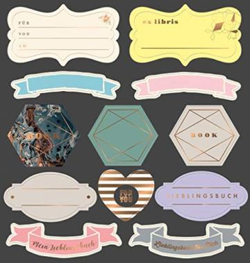 libri_x Stickerbuch Leseliebe -