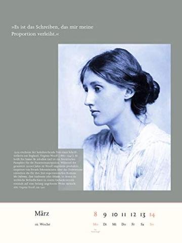 Der literarische Frauenkalender 2021: Aufbruch der Frauen -