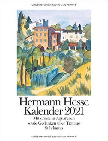 Hermann Hesse Kalender 2021 -