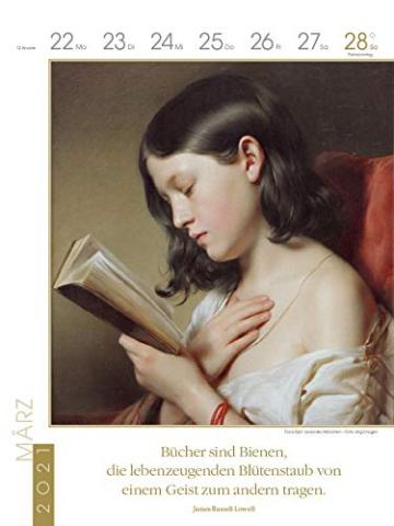 Literaturkalender Frauen lieben Lesen 2021 -