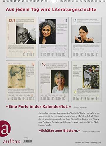 Aufbau Literatur Kalender 2021 -
