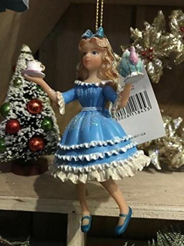 Gisela Graham : Weihnachtsdekoration: Alice im Wunderland -
