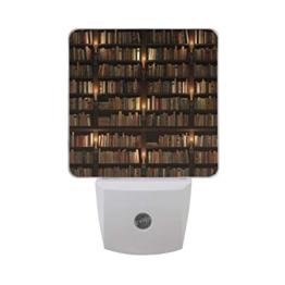 Nachtlicht Bibliothek