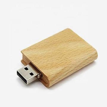 Holzbuch USB Stick