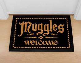 Muggles welcome