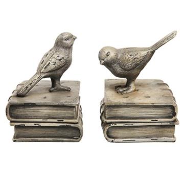 Vögel und Bücher  Buchstütze